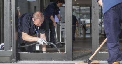 130121. PHOTO:KEVIN STENT/STUFFA man has been charged after an axe attack on WellingtonÕs Parliament buildings, which ...