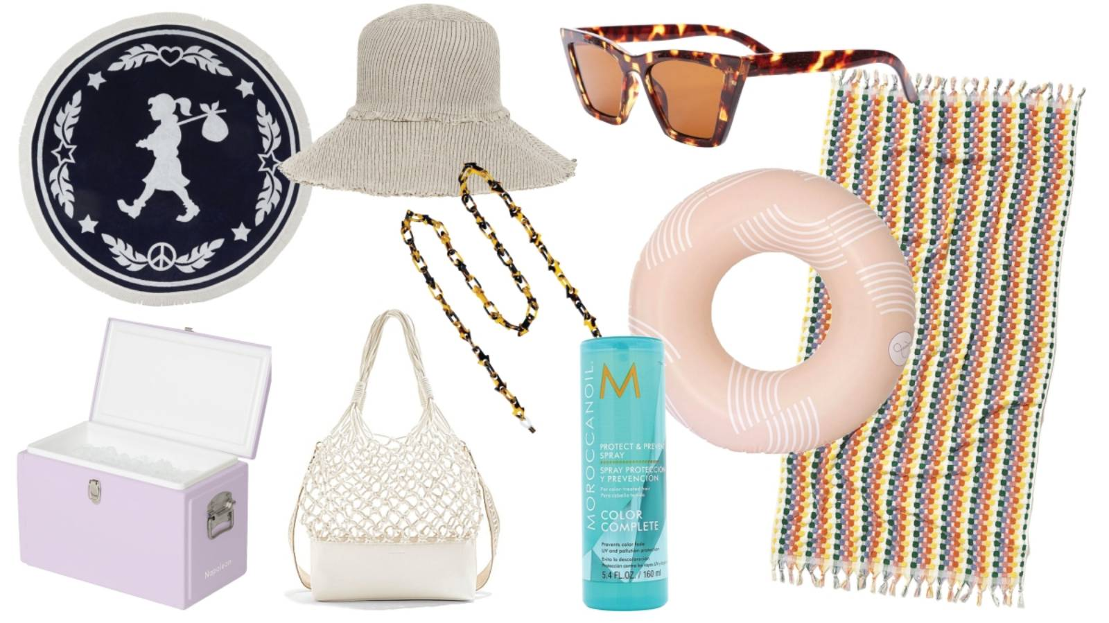 Stylish bits for the beach