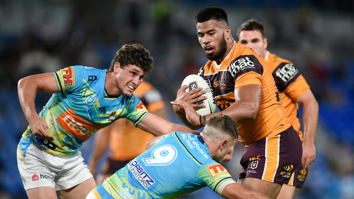 Broncos and NSW Origin star Payne Haas 'ashamed' after arrest for abusing police – Stuff.co.nz