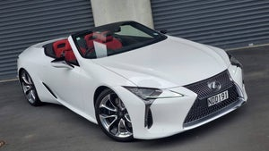 First Drive Review: Lexus LC 500 Convertible