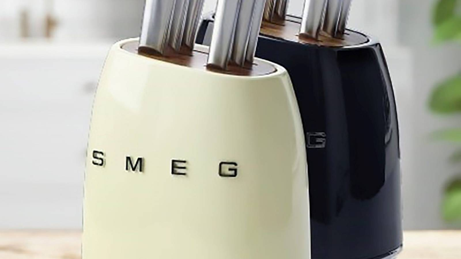Smeg knife blocks on Trade Me, with prices up to $600