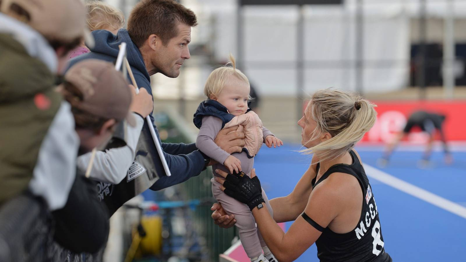 Baby No. 2 is on the way for Richie and Gemma McCaw, due later this year