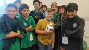 Robot racing introduces tamariki to world of engineering