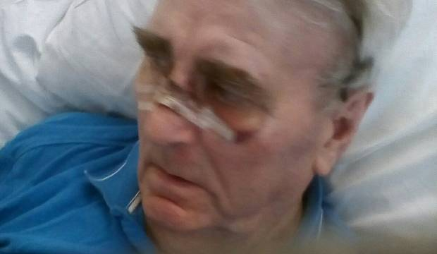 78-year-old stroke victim injured in hospital falls five times in two weeks