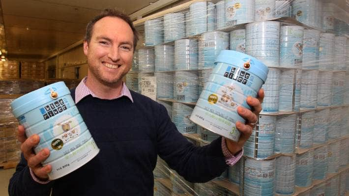 Gareth Lyness of Blue River Dairy [file photo].