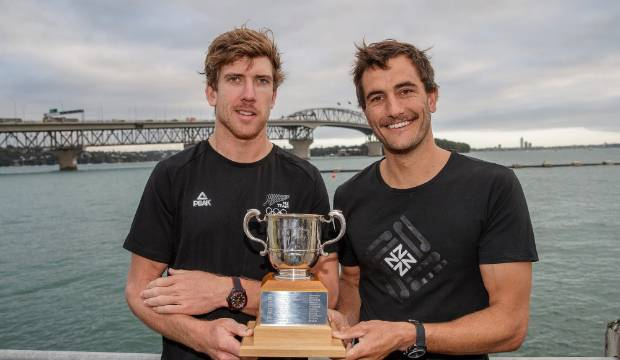 Sailing stars Peter Burling, Blair Tuke awarded Lonsdale Cup