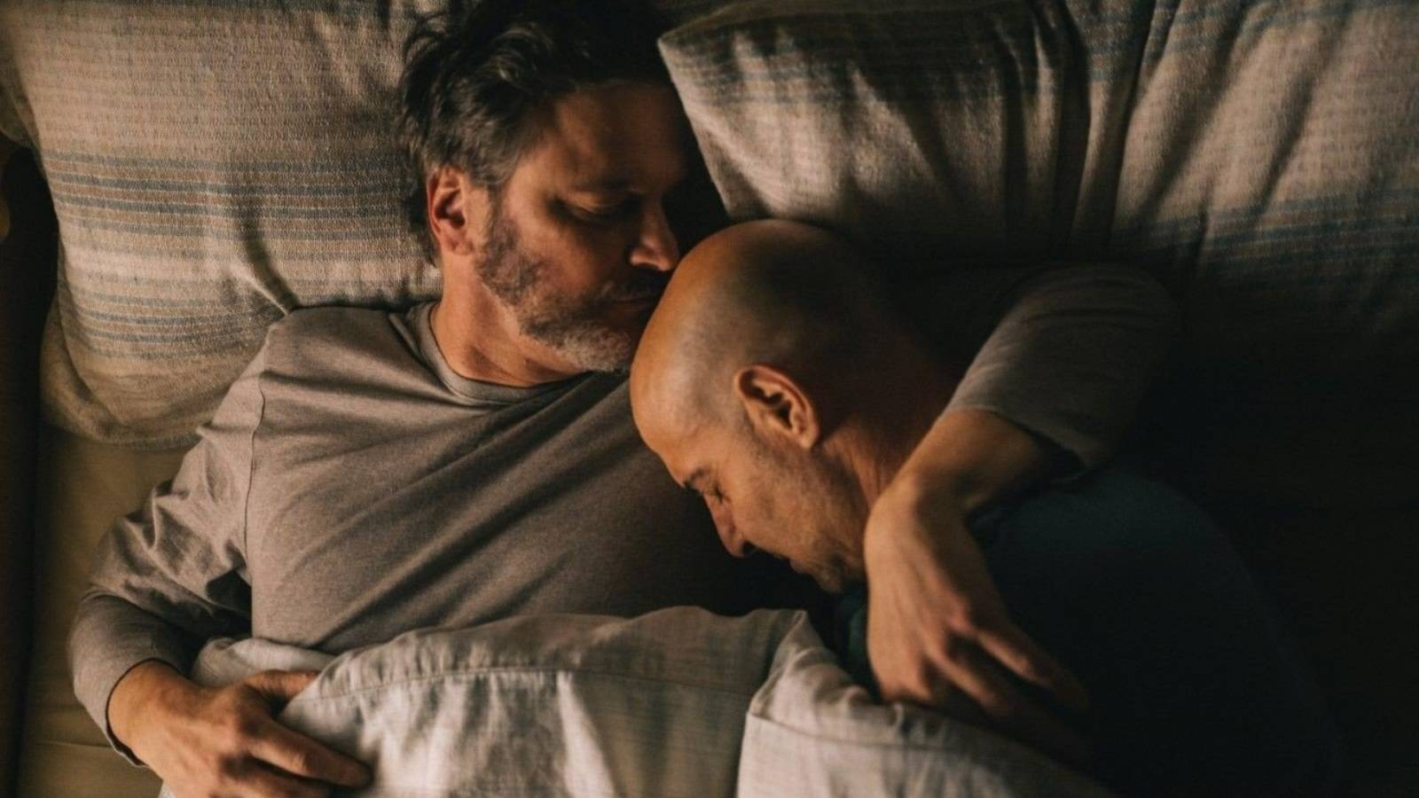 Simply superb: Firth and Tucci's haunting, heartbreaking drama