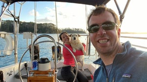 Couple quit jobs and use house deposit savings to buy a boat