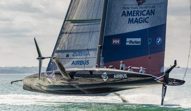 America's Cup: Scott McLaughlin's boss Roger Penske financing American Magic in water motorsport battle
