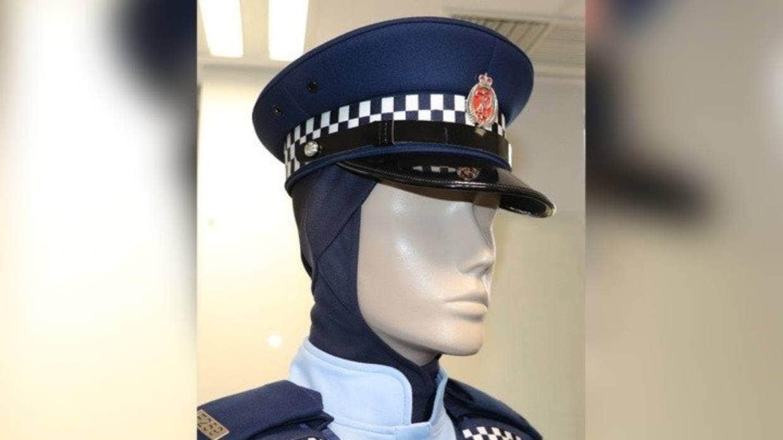 Hijab del uniforme de la policía de Nueva Zelanda
