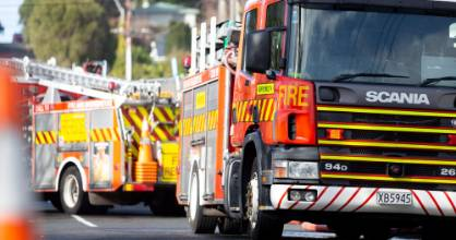 Fire and Emergency services attended a crash in Kelburn on Tuesday morning. (File photo)