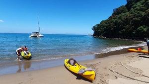 Bay of Plenty's hidden hot water beach