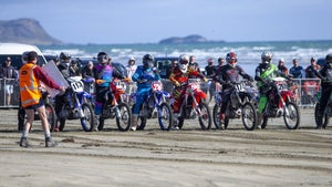 Final fine-tuning mark start of beach champs