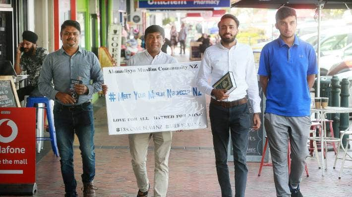 lmam Sabah Al-Zafar will be walking the streets of Waikato towns to speak with people to dispel myths and misconceptions around Islam.