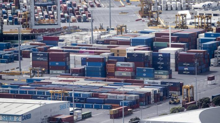 There is a global shortage of empty containers, but a shipping line in Auckland says it has too many of them.