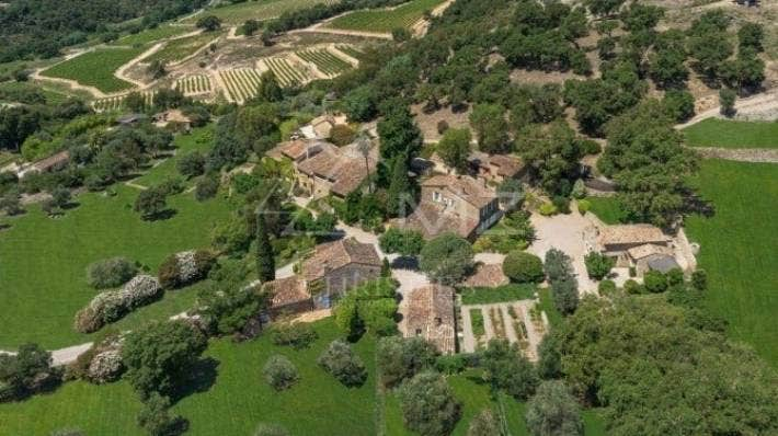 Johnny Depp's French village covers 15 hectares.