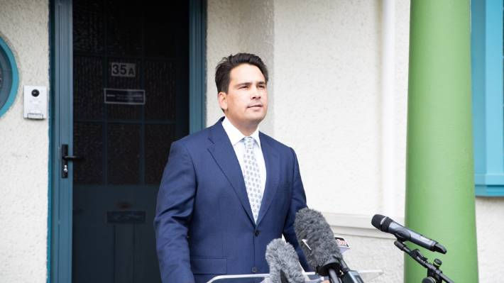 Former National leader Simon Bridges.