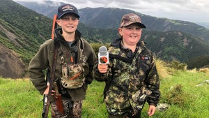 Meet the boy who would rather be out hunting than playing video games