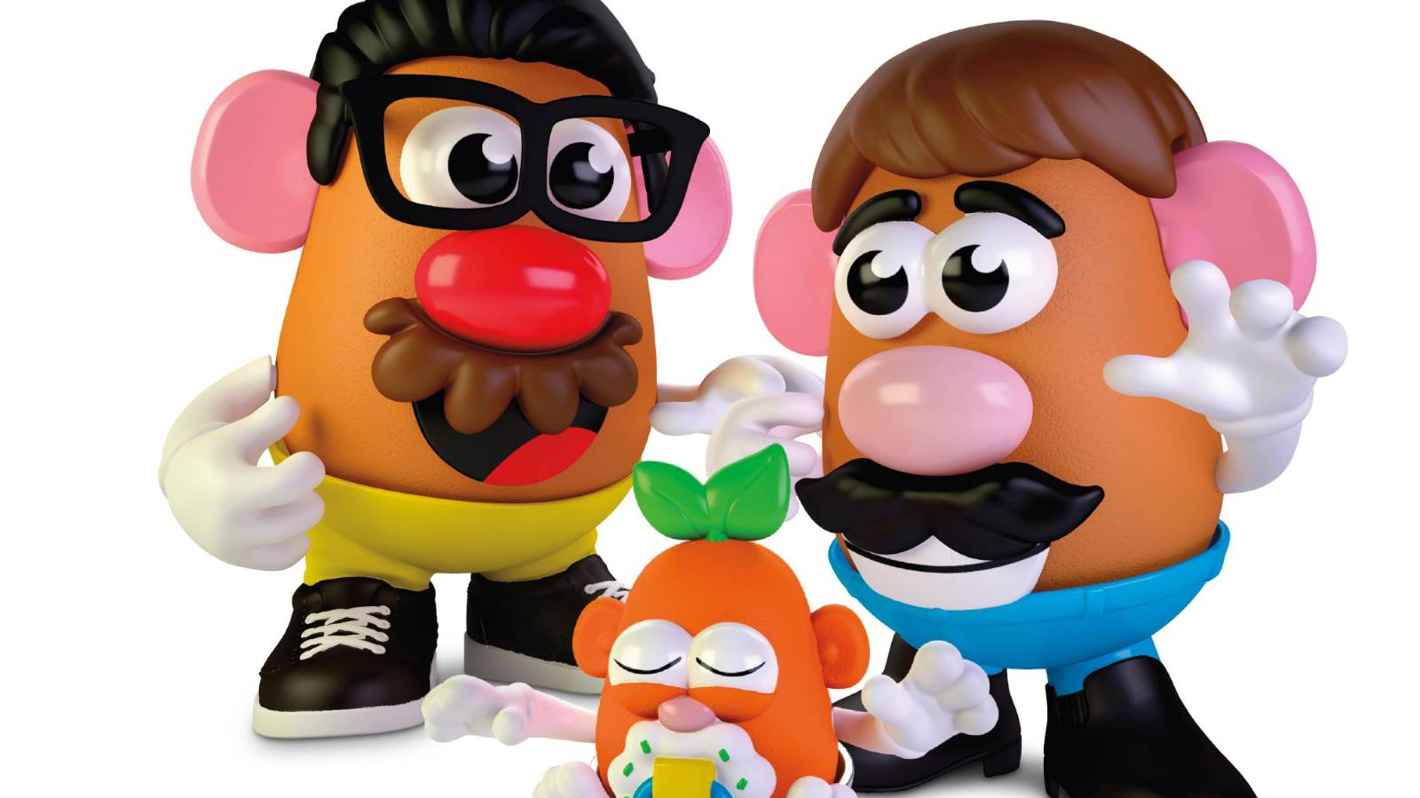 Potato Heads were never really 'Mr' anyway