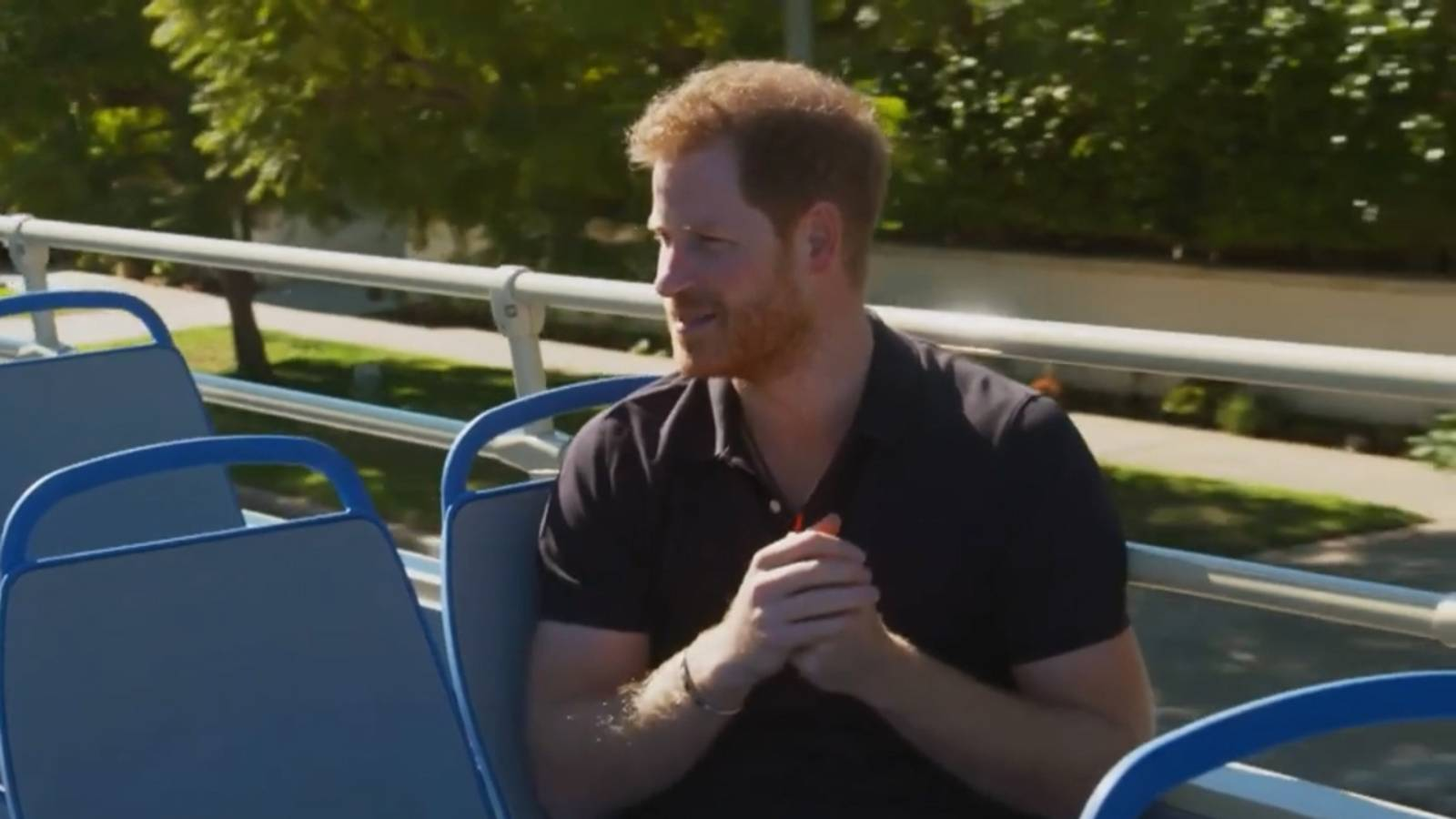 Prince Harry raps 'Fresh Prince' in wide-ranging James Corden interview