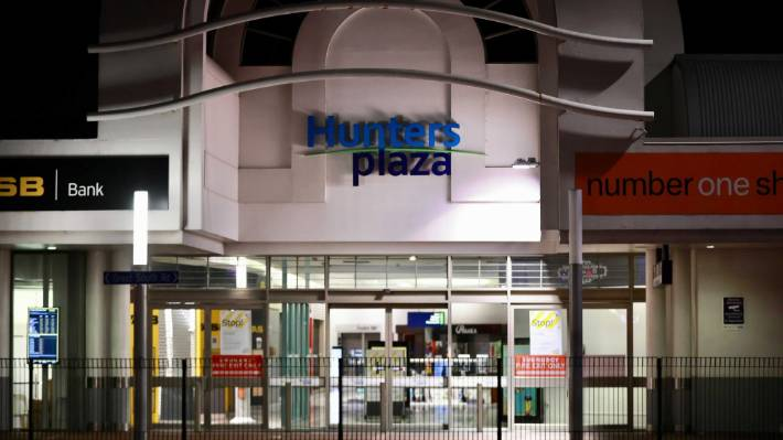 Hunters Plaza is one of the locations of interest in the latest community case of Covid-19 in Auckland.