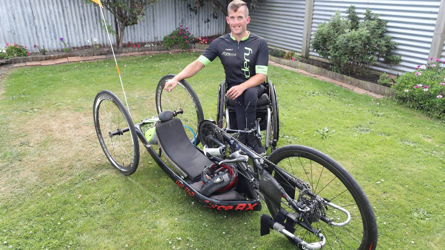 Back to training for Timaru handcyclist as event postponed