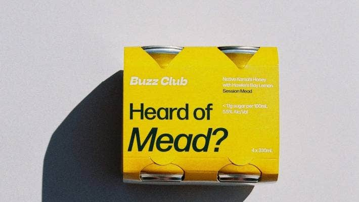 The Buzz Club's mead range comes in a variety of different flavours.
