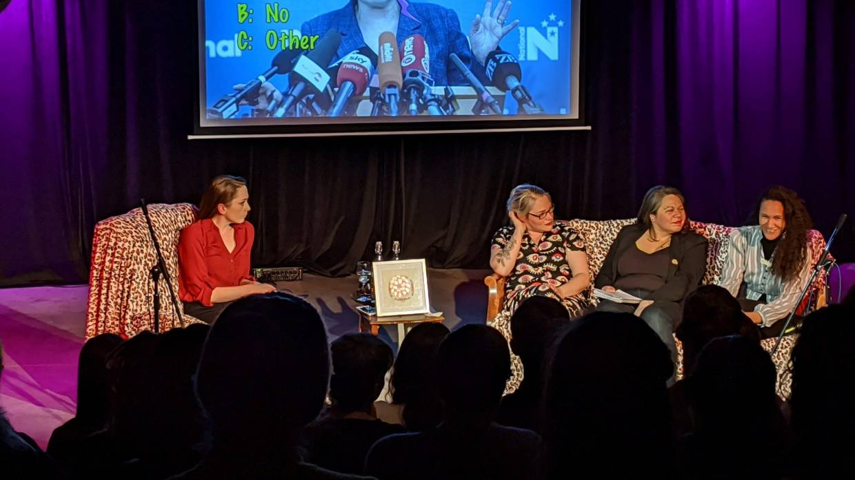Returning Christchurch show explores two F words - feminism and funny |  Stuff.co.nz