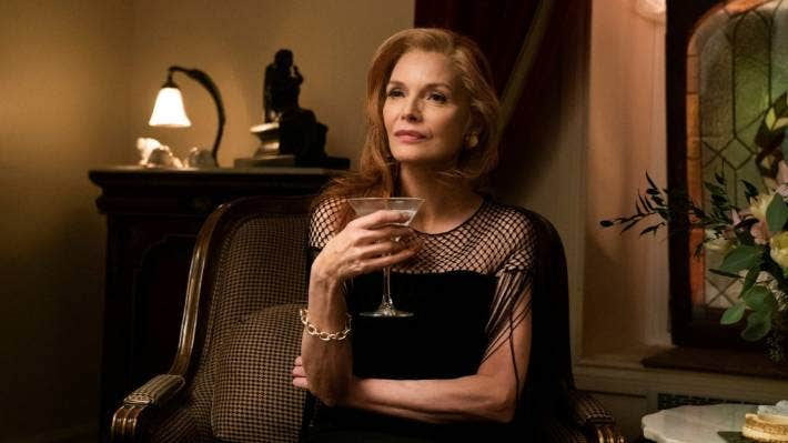Over the years, Michelle Pfeiffer has proven her ability to play complex and sometimes unlikeable characters and French Exit's Frances Price is definitely one of her finest turns.