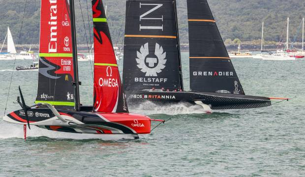 Carl Whiting: America's Cup becomes a three-dimensional Snakes and Ladders game for Team New Zealand