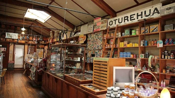 Gilchrist's Store in Oturehua opened in 1929.