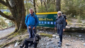 How a blind man walked the Milford Track
