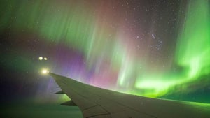 Behind the scenes on Air New Zealand's aurora hunter