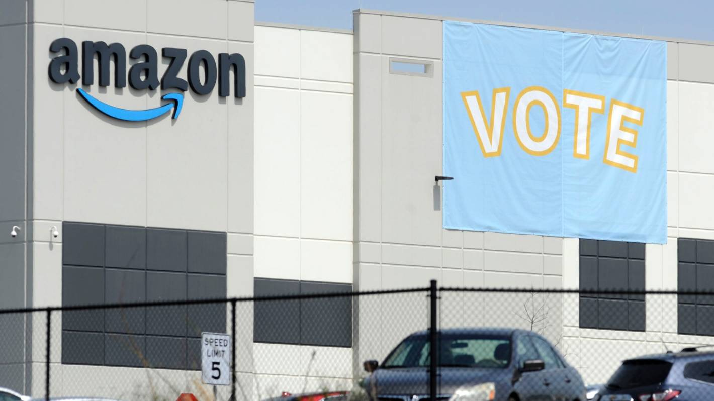 Amazon's win in Alabama over union is latest victory in power struggle between tech giants, workers