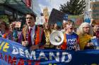 A School Strike 4 Climate march in Christchurch.