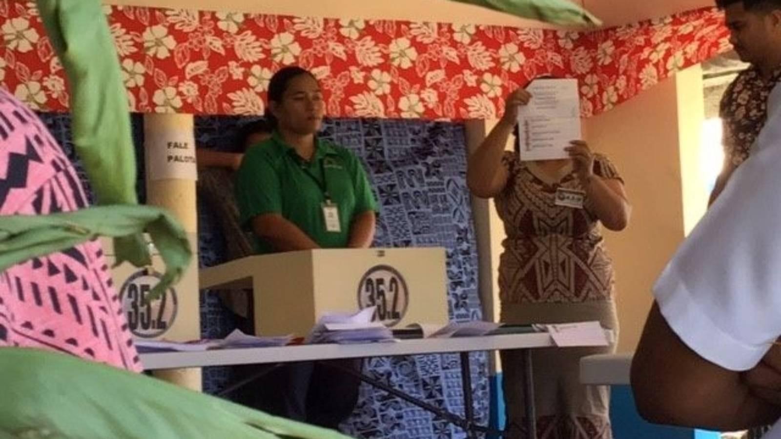 Samoan election: Independent candidate kingmaker