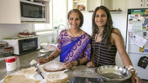 The mother-daughter duo bringing authentic Indian cuisine to home cooks