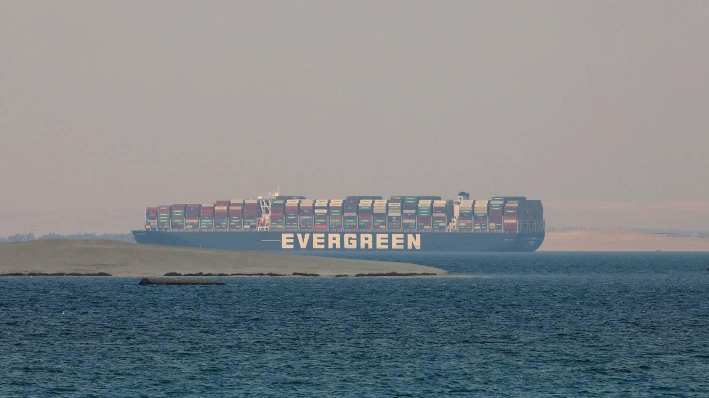 Image Ever Given impounded: Egypt seizes vessel, seeks over a billion for Suez Canal jam