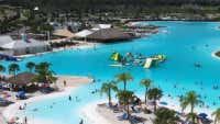 A beach resort with a heated lagoon ... in Hamilton