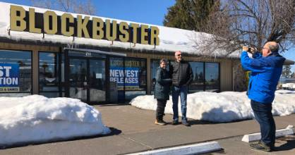 """The Last Blockbuster is the sad story of how the dominant home entertainment """"fish in the sea"""" became """"a novelty act""""."""