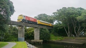 Age of the train returns to Taranaki for one day only
