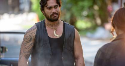 Eds Eramīha plays Kingi in TVNZ's new Kiwi drama Vegas.