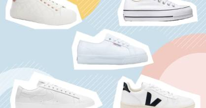 LIFE: White trainers: Five pairs to try out shoppable