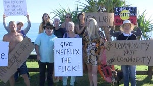 Byron Bay locals protest planned Netflix series Byron Baes