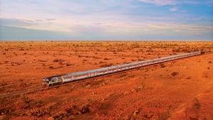 Australia's longest train journey is back on track