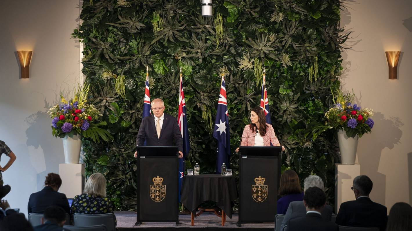 Image Australian Prime Minister Scott Morrison to meet Prime Minister Jacinda Ardern in Queenstown in two weeks