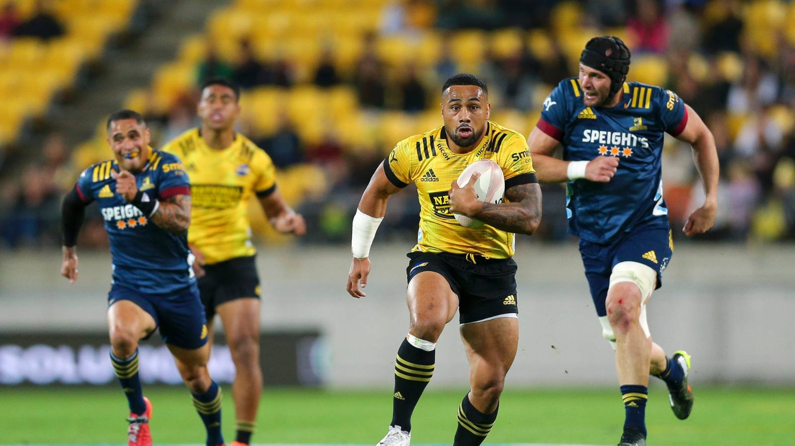 'Win some, lose some': Hurricanes farewell Laumape for nearly triple his money