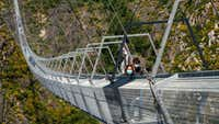 Are you brave enough to cross the world's longest pedestrian bridge?
