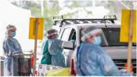 Melbourne man tests positive for Covid-19
