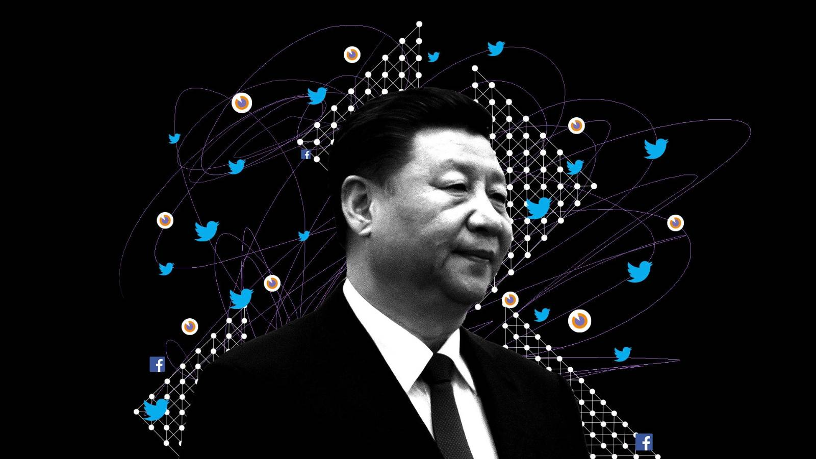 Army of fake fans boosts China's global messaging